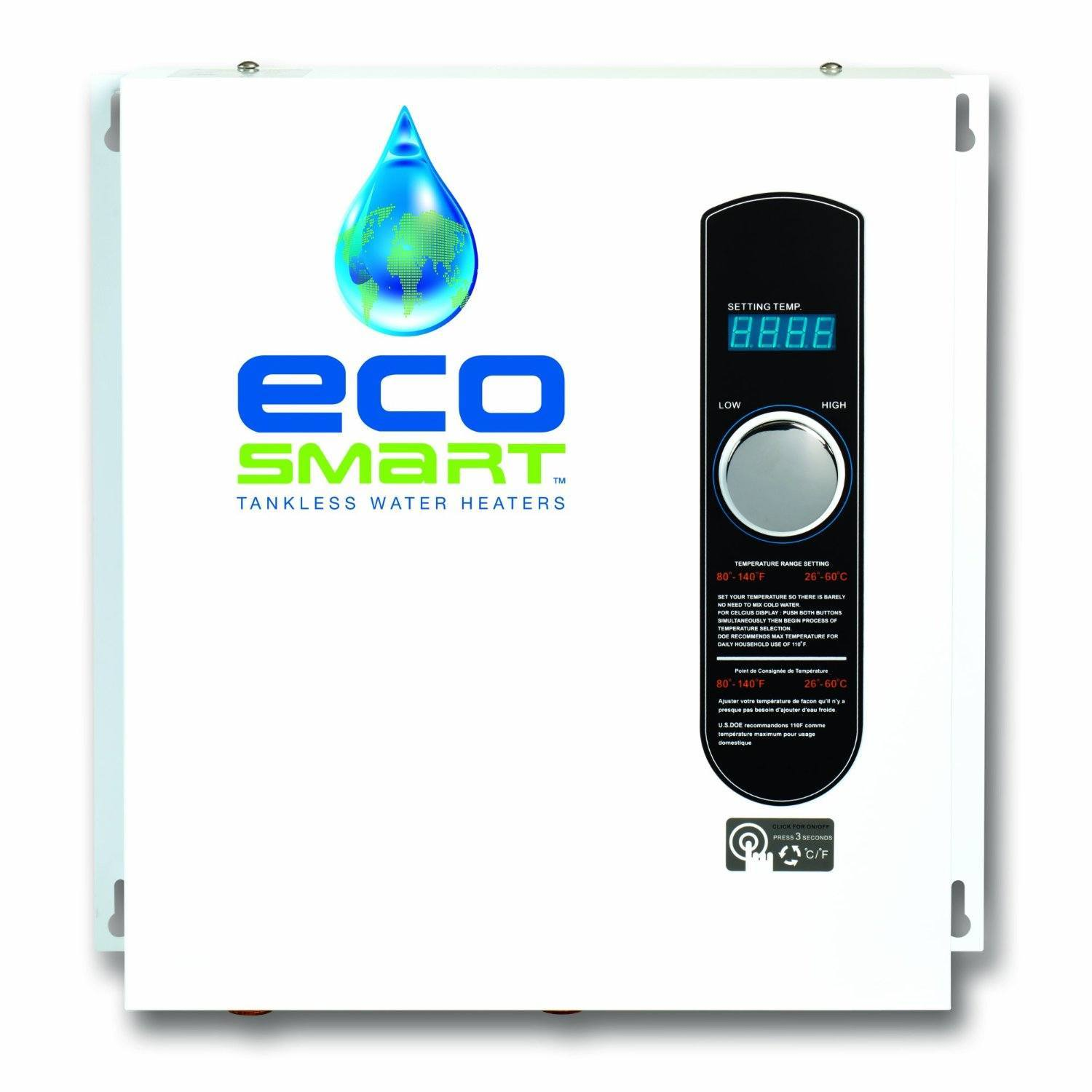 Best Electric Tankless Water Heaters 2018 Reviews Top Picks